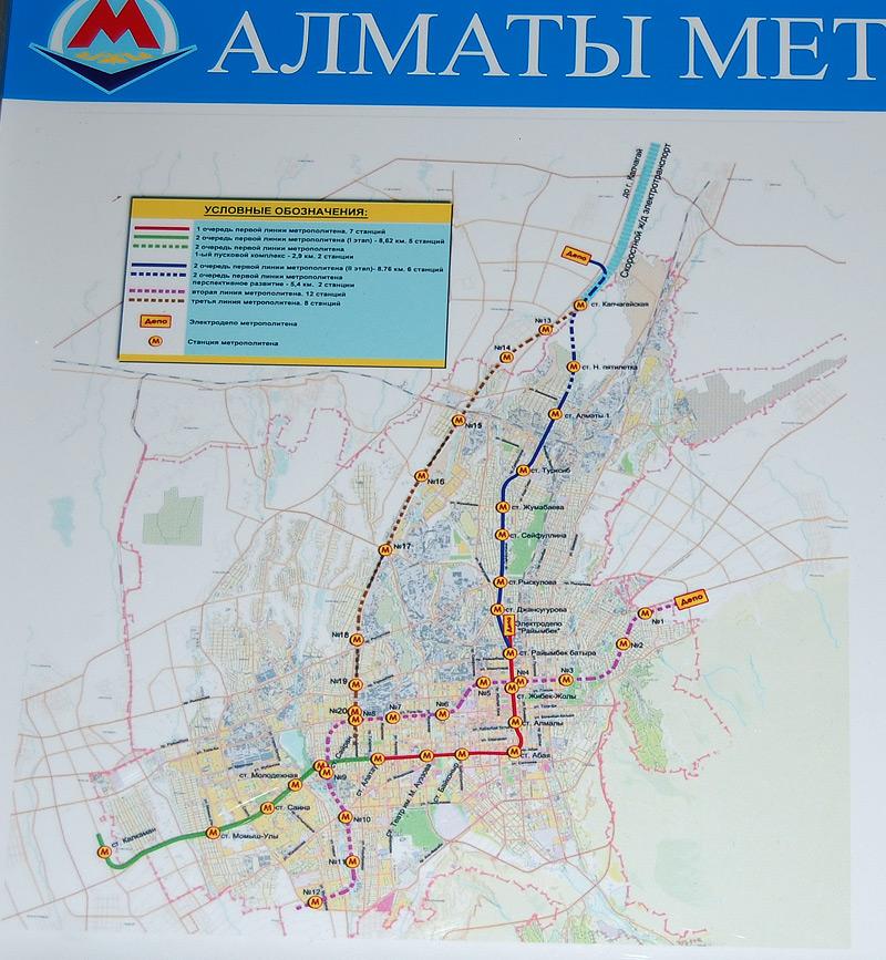 Схема метрополитена, Схема